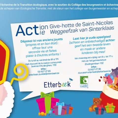 Give Hotte saint-nicolas